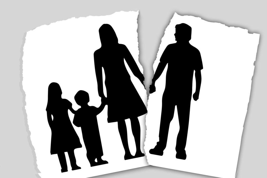 Развод и дети.