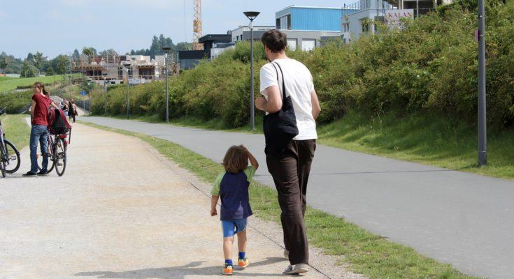 как общаться отцу с ребенком после развода
