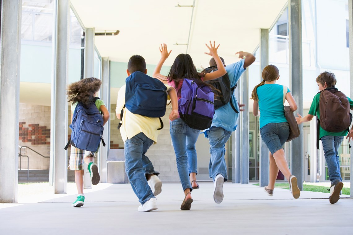 Детские школьные каникулы