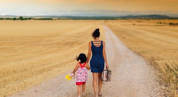 разделить детей при разводе
